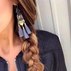 stella & dot ~ rachelle tassel earrings
